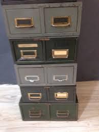 Vintage Metal File Cabinet Vintage Metal File Boxes Retrocraft Design Collection Sold Items