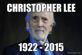 Christopher Meme - christopher lee know your meme