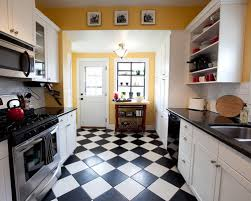 stunning kitchen floor white on black concept with paint color