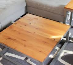 Build Wood End Tables by Remodelaholic Coffee And End Tables