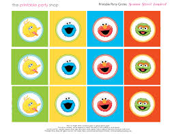 100 printable sesame street characters coloring pages
