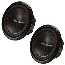 pioneer ts w304r 12 inch 2 x 1300w subwoofers set of 2 2