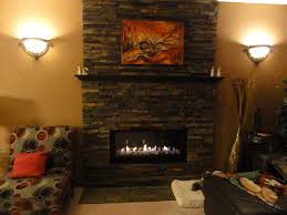 stone veneer fireplace from brick for the home pinterest stone