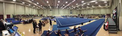 nola national invitational gymnastics meet in new orleans la