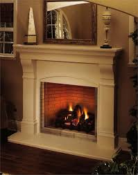 nifty full view direct vent fireplace deck hearth hearth gas