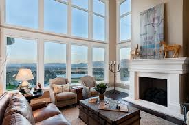 Great Room Window Ideas Family Room Contemporary With Large - Family room window ideas