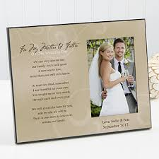 personalized wedding gifts personalized wedding picture frame to my parents