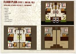 villa floor plan kingson green villa floor plan 91 9718448844