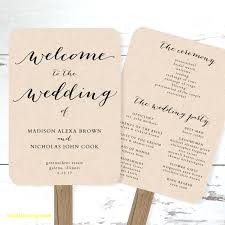 wedding program paddle fan template paddle fan template