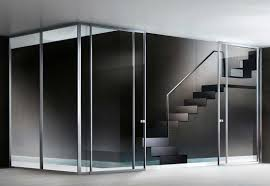 sliding glass walls bi fold moving wall systems with gorgeous