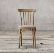 Birch Dining Chairs Cafe Bistro Side Metal Wood Dining Chairs Oak Birch Rubber