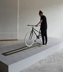 milou bergs u0027 bicycle rack takes up less
