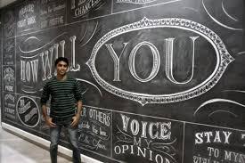 thanksgiving chalkboard art demand for chalk artistry in toronto keeps growing