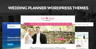 Wedding Planner Websites Wedding Planner Wordpress Themes For Wedding Planning And Event