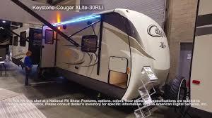 Keystone Cougar Fifth Wheel Floor Plans Keystone Cougar Xlite 30rli Youtube