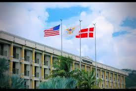 Us Virgin Island Flag One Man Wolf Pack U2013 Drone Pictures U S Virgin Islands