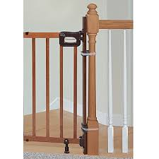 Buy A Banister Hardware Mounted Baby Gates U2013 Top Of Stairs Walk Through Metal