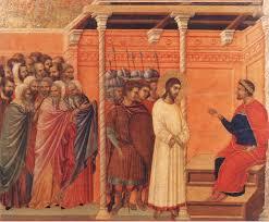 imagenes de jesus ante pilato jesús ante pilatos pregunta santoral
