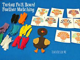 thanksgiving turkey patterns turkey felt board feather matching teach beside me