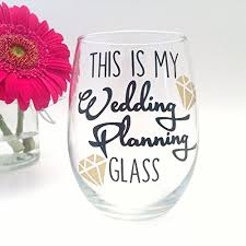 plan my wedding this is my wedding planning glass handmade