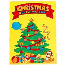 12 mini christmas colouring books a6 boys party bag