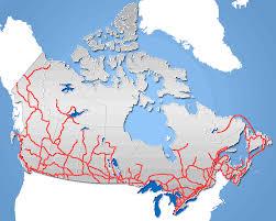 road map canada roads canada frame mapsof net