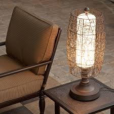 Patio Furniture Lighting Bristol Outdoor Patio Table L Hayneedle