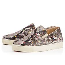 christian louboutin with spikes christian louboutin boat flat