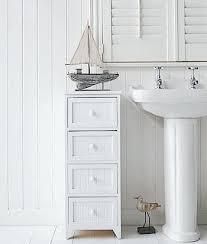 Storage Unit Bathroom Cabinet Bathroom Storage Bathroom Cabinet Storage White 4 Drawer