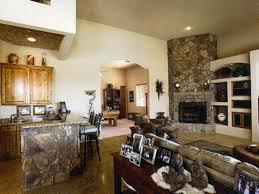 luxury corner stone fireplace designs