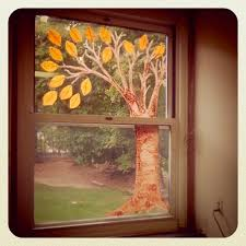Christmas Tree Translucent Window Decorations by How To Decorate A Classroom Window For Spring Would Work A