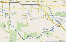 studio city map back will president obama s visit affect your commute
