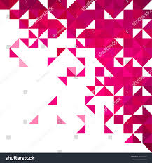 corner pattern png background geometric shapes colorful mosaic pattern stock vector