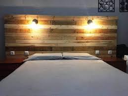 Headboard With Lights Headboard Bed Lights Home Design Hay Us