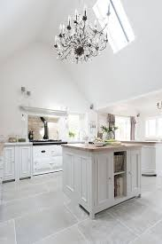 White Kitchen Tile Floor Charmant White Kitchen Floor Tiles Cleaning Large We Put Shiny In