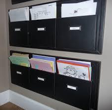Folders For Filing Cabinet Best 25 Wall File Organizer Ideas On Pinterest Diy Cabinet Door