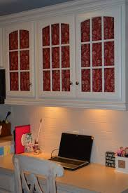 decorating cheats adding fabric to glass doors exquisitely