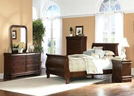 liberty furniture bedroom set louis phillippe sleigh bed 6 piece bedroom set in brown cherry