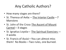 St Teresa Of Avila Interior Castle The Stages Of The Spiritual Life
