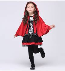 Red Riding Hood Costume Aliexpress Com Buy 2017 Children Girls Little Red Riding Hood