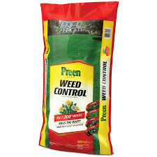 shop preen 20 lb weed control for lawns at lowes com