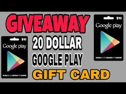20 dollar gift card giveaway 20 dollar play gift card