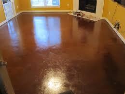 Can You Put Ceramic Tile On Concrete Basement Floor Painted Concrete Floors While Easy Diy Fix Concrete Floor