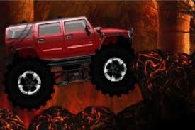 monster truck 3d game speed