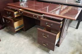 Desk And Filing Cabinet Set Quality Used Office Desks In Raleigh Pre Owned Computer Desks