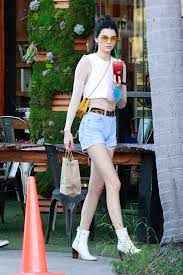 kendall jenner casual kendall jenner sports casual dukes crop top combo after