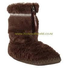 womens slipper boots nz nz 137 chocolate womens bedroom athletics bridgette slipper