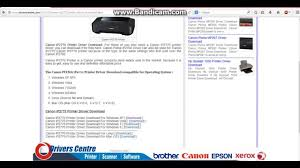 resetter canon ip2770 free canon pixma ip2770 printer driver download youtube