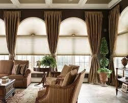 Tall Window Treatments Houzz - Family room window treatments
