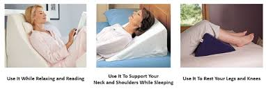 wedge bed pillows 10 best bed wedge pillows for neck and back support